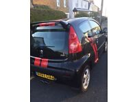 peugeot 107xs only 1350£