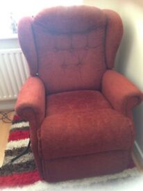 Sherborne Linton rise and recliner chair