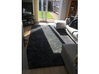 Large grey IKEA rug- in a non smoking/no children/no pets home