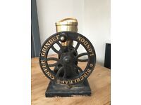 Attractive vintage style COFFEE GRINDER, DAVID BIRCH DESIGN BIRCHLEAF LONDON POTTERY CO