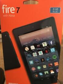 Amazon fire 7 tablet with Alexa 8gb in Blue