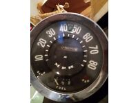 Ford Thames front bumper rare chrome and speedo new ball joints