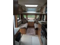 Caravan 2012 swift challenger 620sr 4 berth double axle fixed bed alko hitch Dorema porch awning