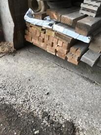 4x1 timber, 16'' long