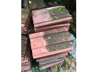 Redlands 49 roofing tiles free to collector