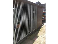 Premium Dog Kennel Run & Insulated Hardly Used +£2k