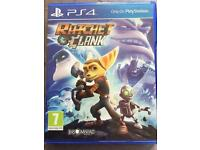 PS4 Ratchet and Clank game