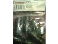 Connect 31033 Push-Fit Union reducer 12mm - 10mm x 5 pack