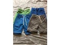 X 4 Next boys shorts age 3-4