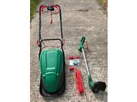 Qualcast Hover mower & strimmer
