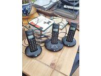 bt trio house phones