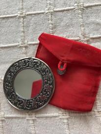 Handheld mirror. New