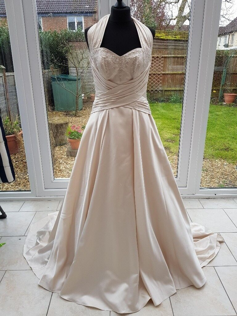 Wedding Dress (BRAND NEW) Size 12 Gold Maggie Sottero | in St George ...
