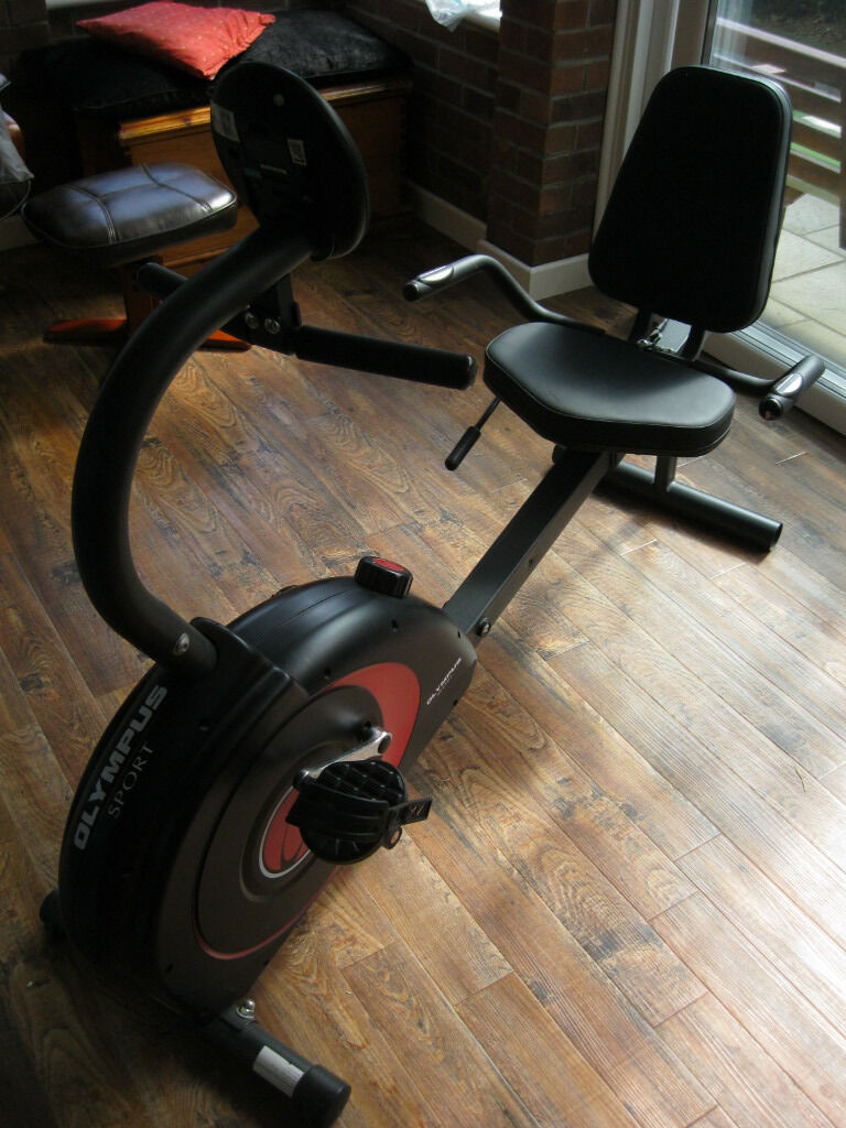 Olympus Sport Exercise Bike Recumbent Horizontal Os11221 In