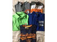 5 Superdry tshirts