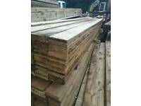 Timber boards 6x1