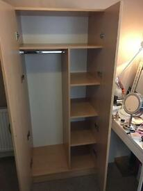 wardrobe and drawer set for sale