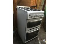 Cannon 50cm double cavity gas cooker FREE DELIVERY