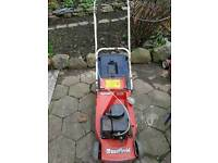 Mountfield petrol engine lawnmower