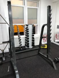 Gym-Owned Squat Rack