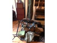 Carp barbel fishing set up