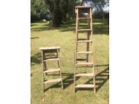 Wodden ladders