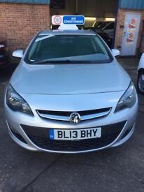 2013/13 Reg Vauxhall Astra 1.7 CDTI Tech-Line Fully Loaded Car 3 Month Warranty £4999