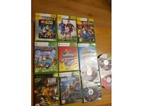 Xbox360 60GB+2 controllers and games