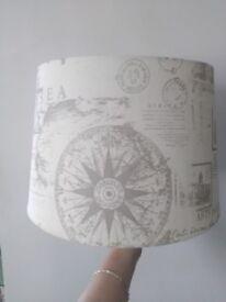 Lamp shade - World/Travel theme