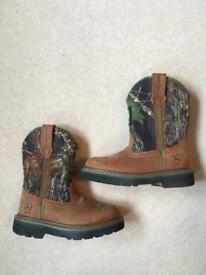 Little boys John Deere boots American size 10w brand new