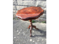 Vintage looking small side table