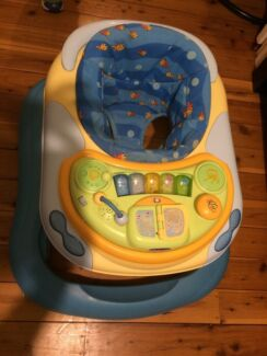 Baby walker  and baby excer saucer Lidcombe Auburn Area Preview
