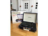 Crosley 3 speed portable record player