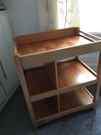 Baby changing table/unit