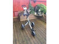 Big Max 3 wheeled golf trolley