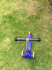 Scooter for sale -blue colour