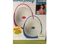 Pink Luvdbaby Travel Potty/ toddle toilet brand new in box