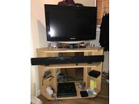 "Samsung TV 26"" with TV table"