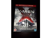 X-MEN+THE WOLVERINE ADAMANTIUM BOX SET