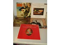 RCA HI-FI RED SEAL RECORDINGS 5 Lps JULIAN BREAM FOUR OF THE VINYLS CONDITION ARE NEAR MINT