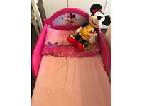 Almost new Minnie Mouse bed