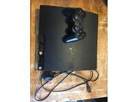 PS3 250GB and games for sale