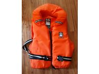 2 adult life jackets & 2 childrens life jackets