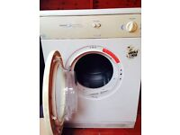 White Knight Sensor Dry Tumble Drier 6kg Load, with Vent Hose. Very Good Condition.