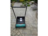 Bosch manual lawn mower