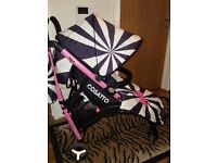 Cosatto Yo 2 Stroller Buggy Pink Bow