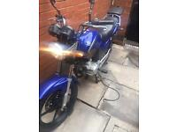 Yamaha ybr 125 low miles for age