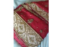 Indian wedding long dress