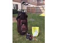Golf Bag, Clubs, Full set of Irons, Balls + more