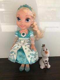 Singing Elsa and Olaf